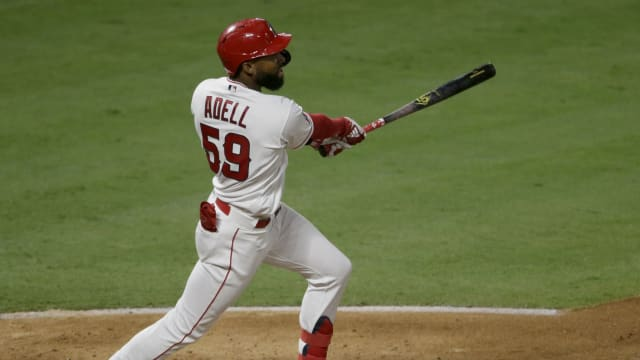 Adell smashes first 2 career home runs