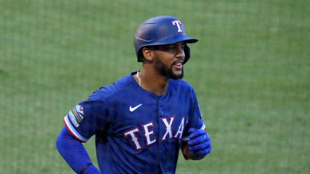 Leody emerging as Rangers' leadoff threat