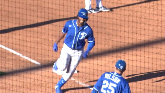 KC prospect Matias hits palm tree with HR
