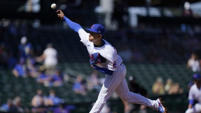 Cubs eager to see more from Alzolay