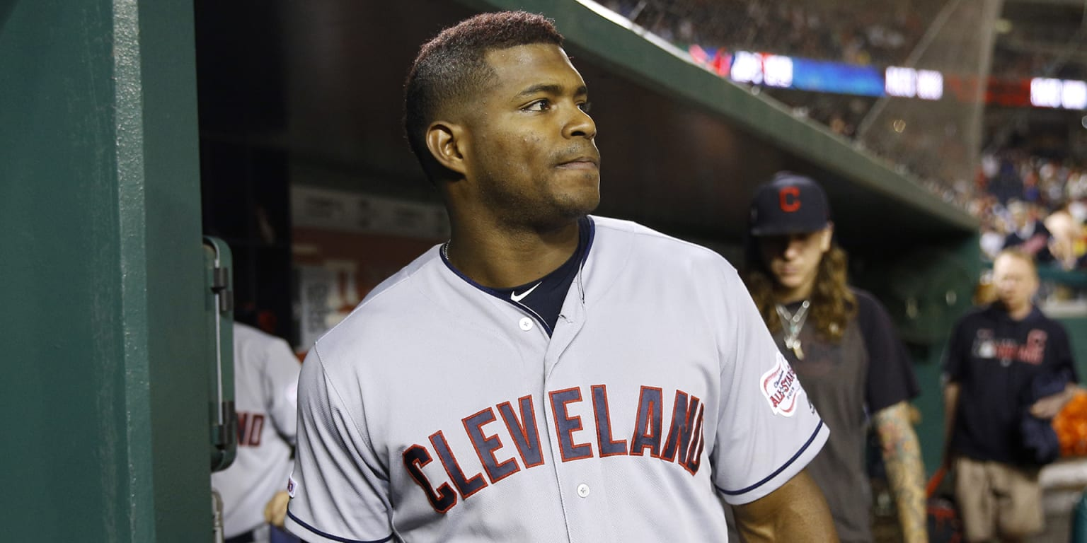 Would Indians bring back Puig on a new deal?