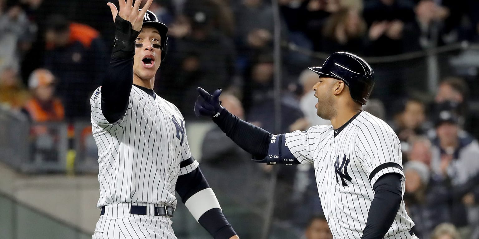 Yanks start G5 with leadoff HR in 4-run 1st