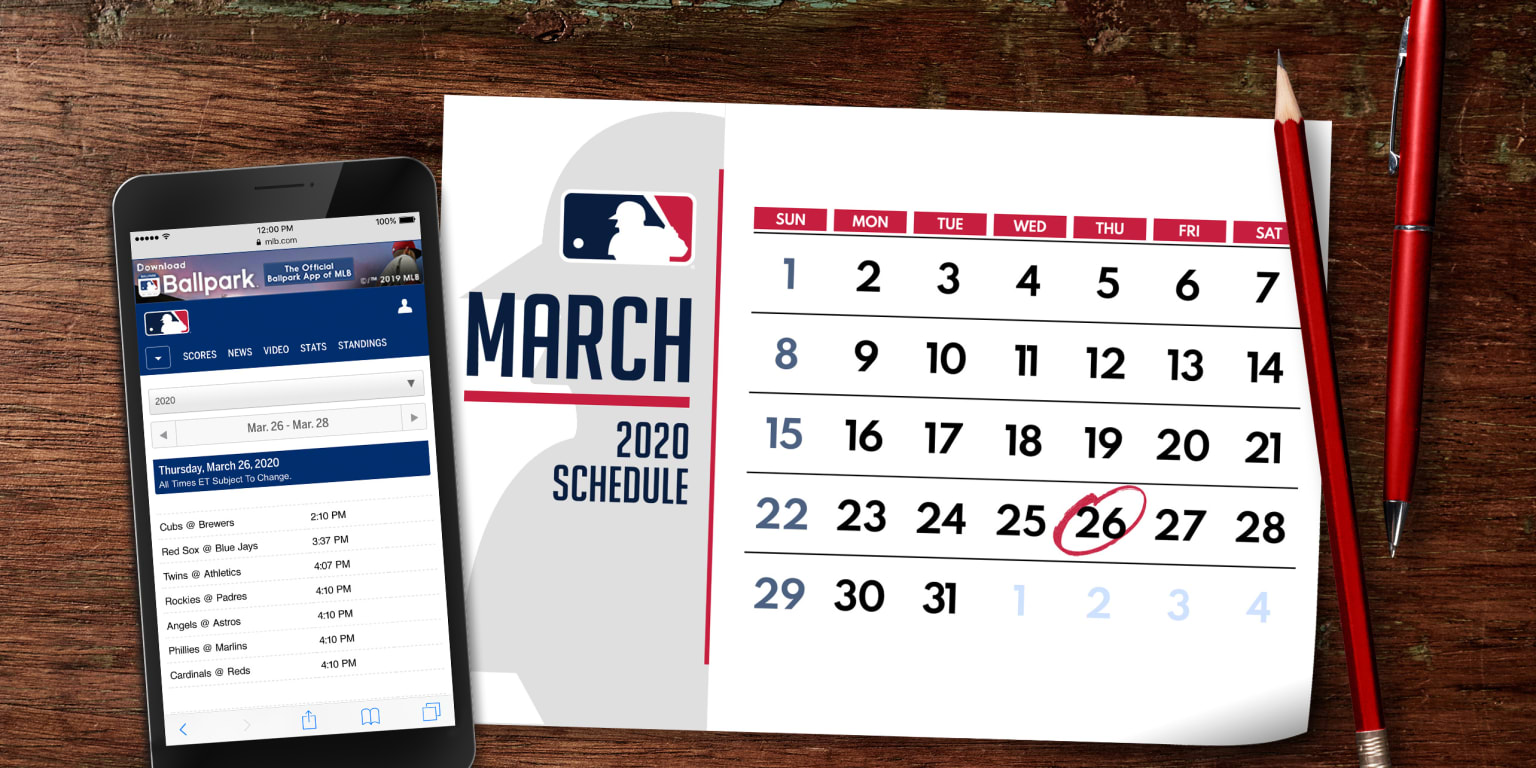 2020 Major League Baseball Schedule Released | MLB com