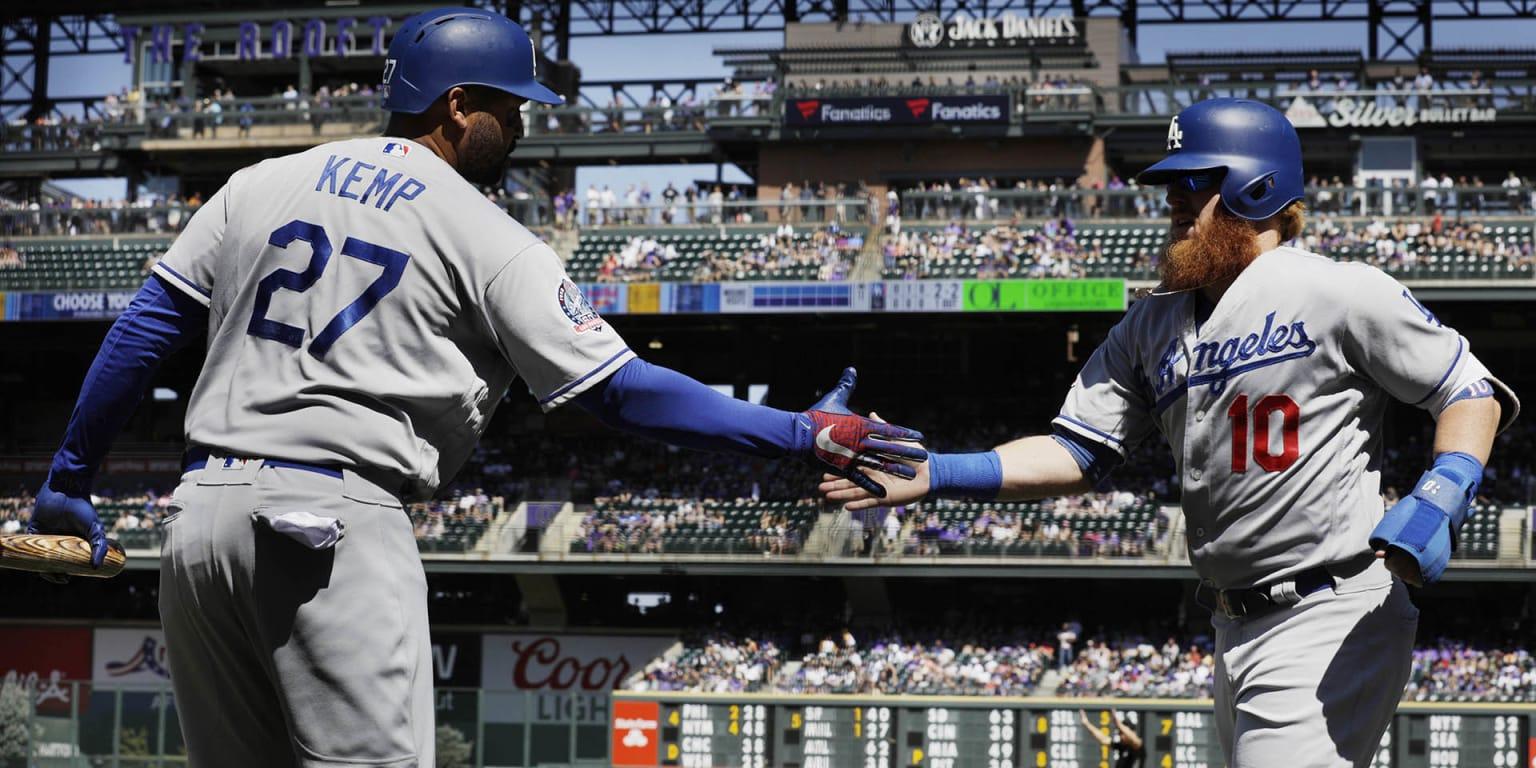 Turner's 4 hits help Dodgers trim West deficit