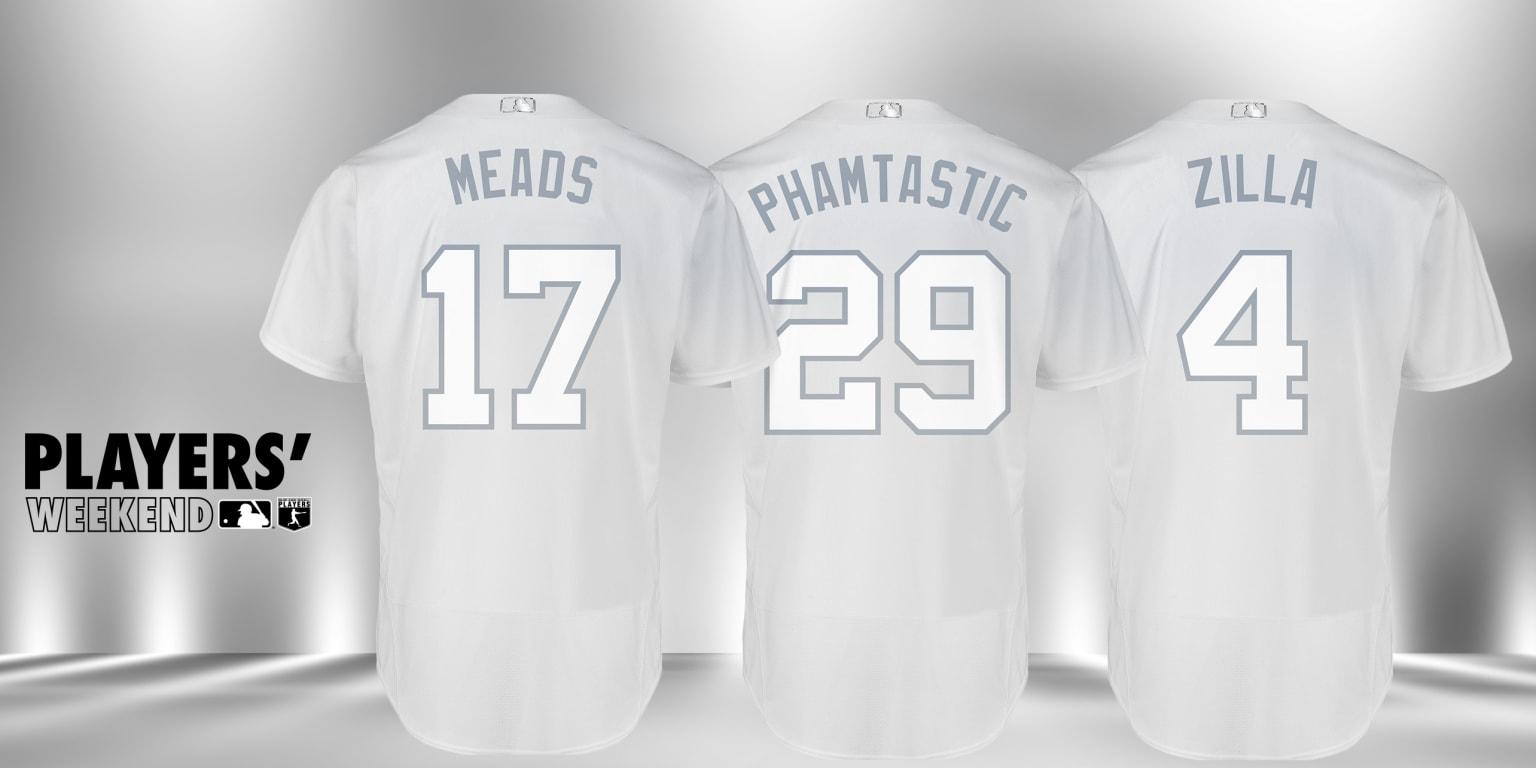 Rays Players' Weekend nicknames | Tampa Bay Rays