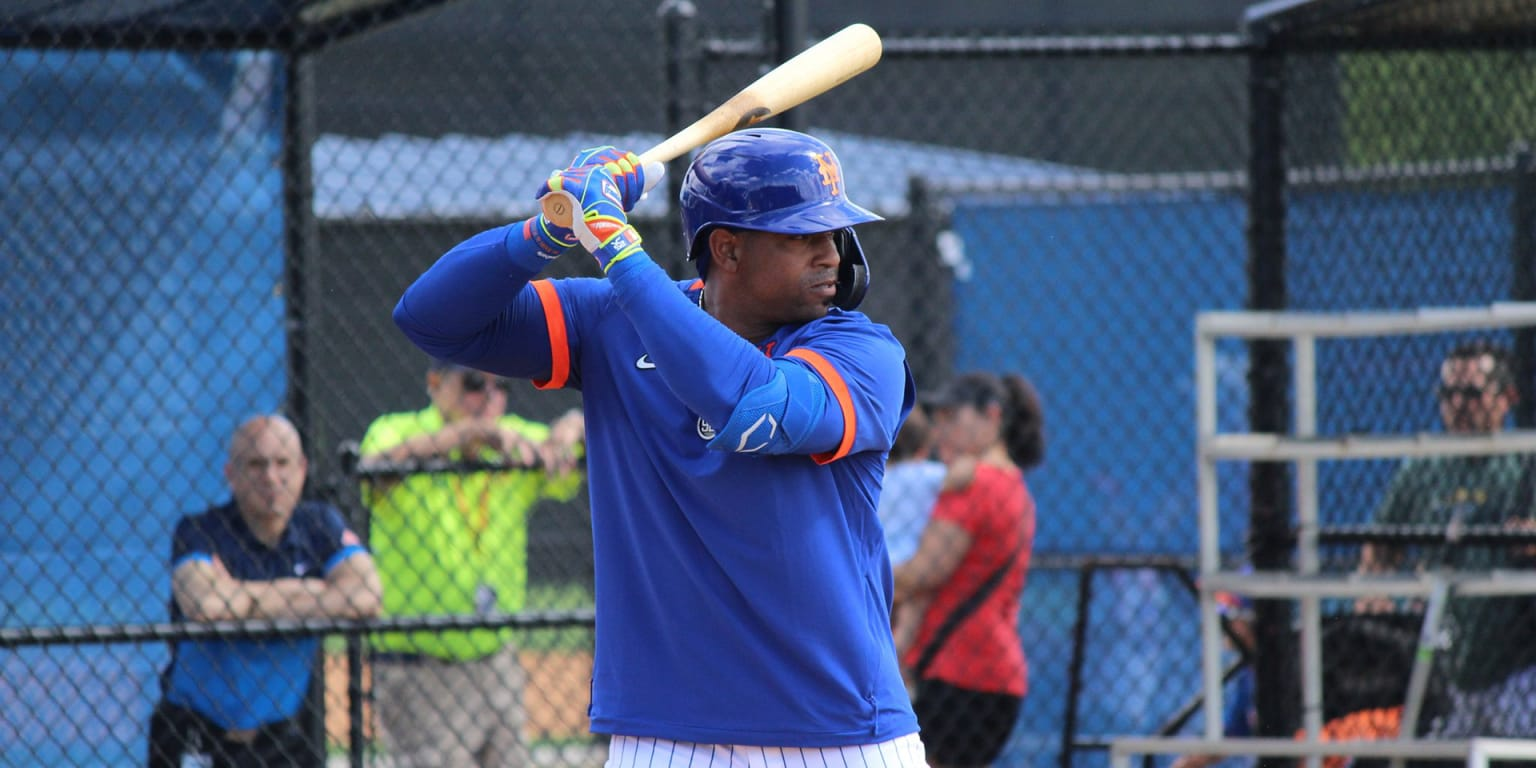 Céspedes takes swings, declines to talk publicly