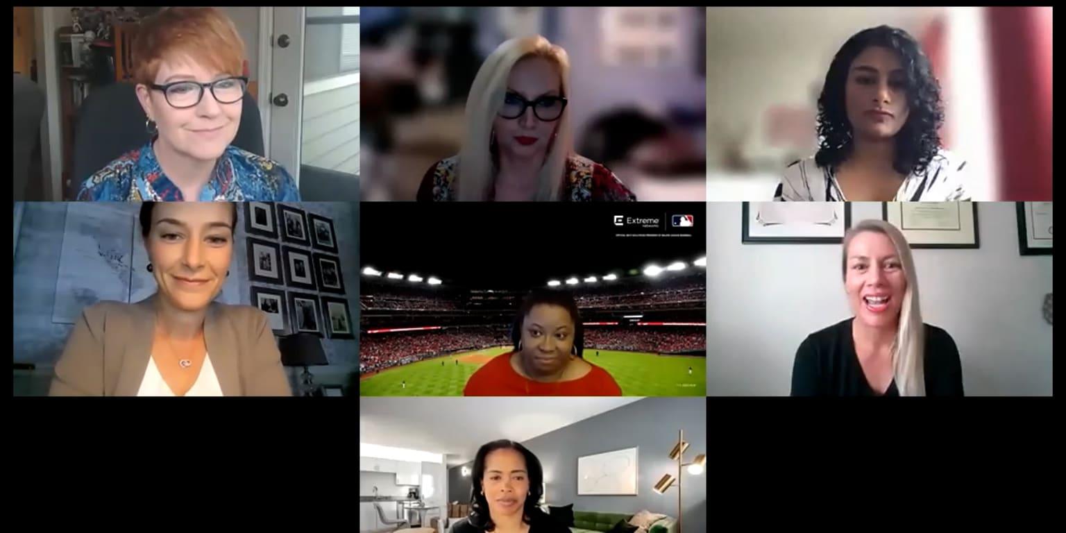 Women breaking ground in MLB, sports tech