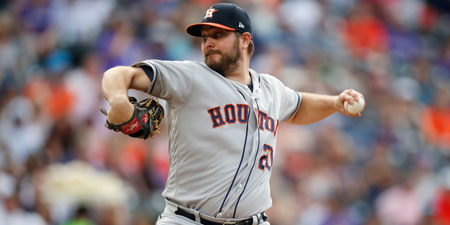 Miley settles down, leads Astros past Rockies