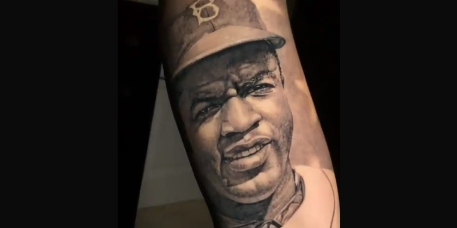 Lonzo Ball got a Jackie Robinson tattoo