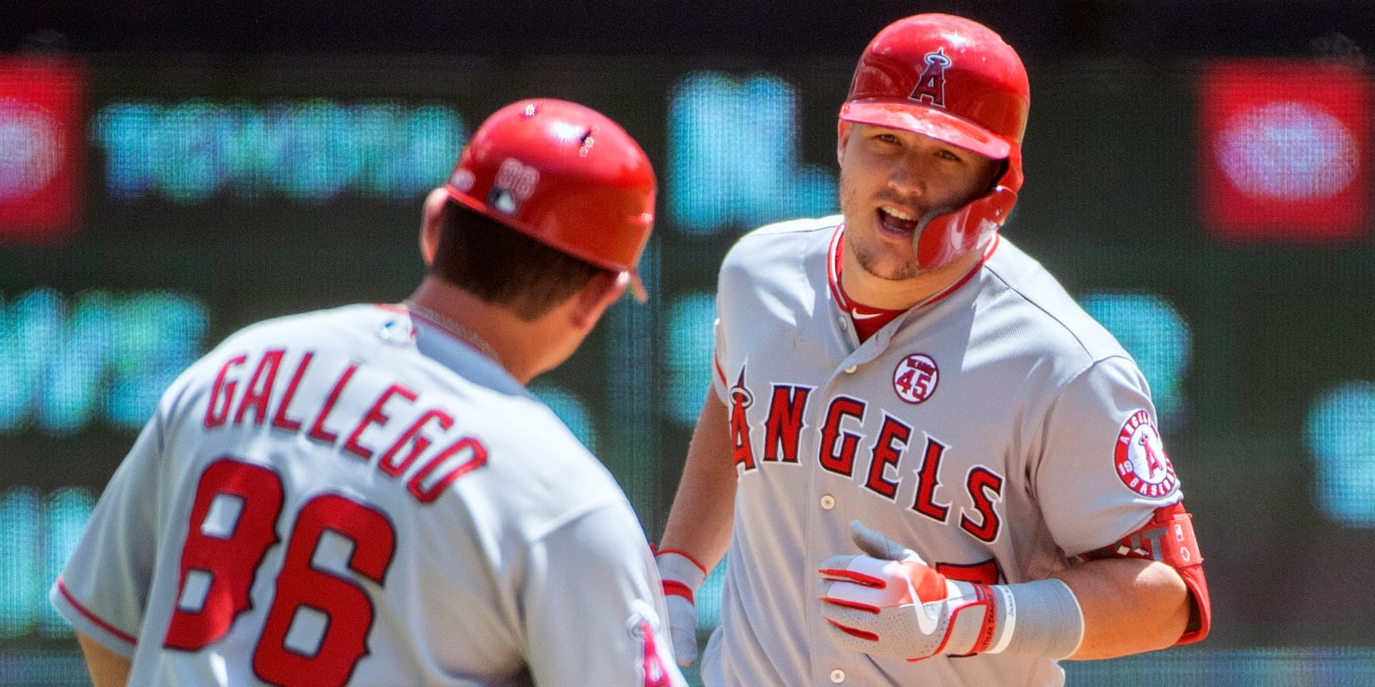 Trout sets new career high with 42nd homer