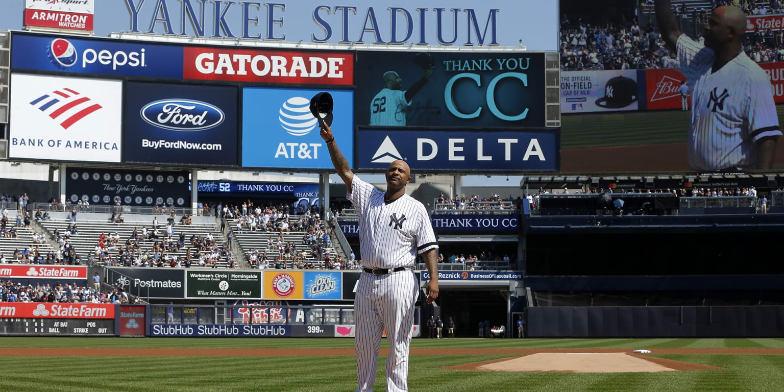 Thank you, CC: Lefty moved to tears by tribute - MLB.com