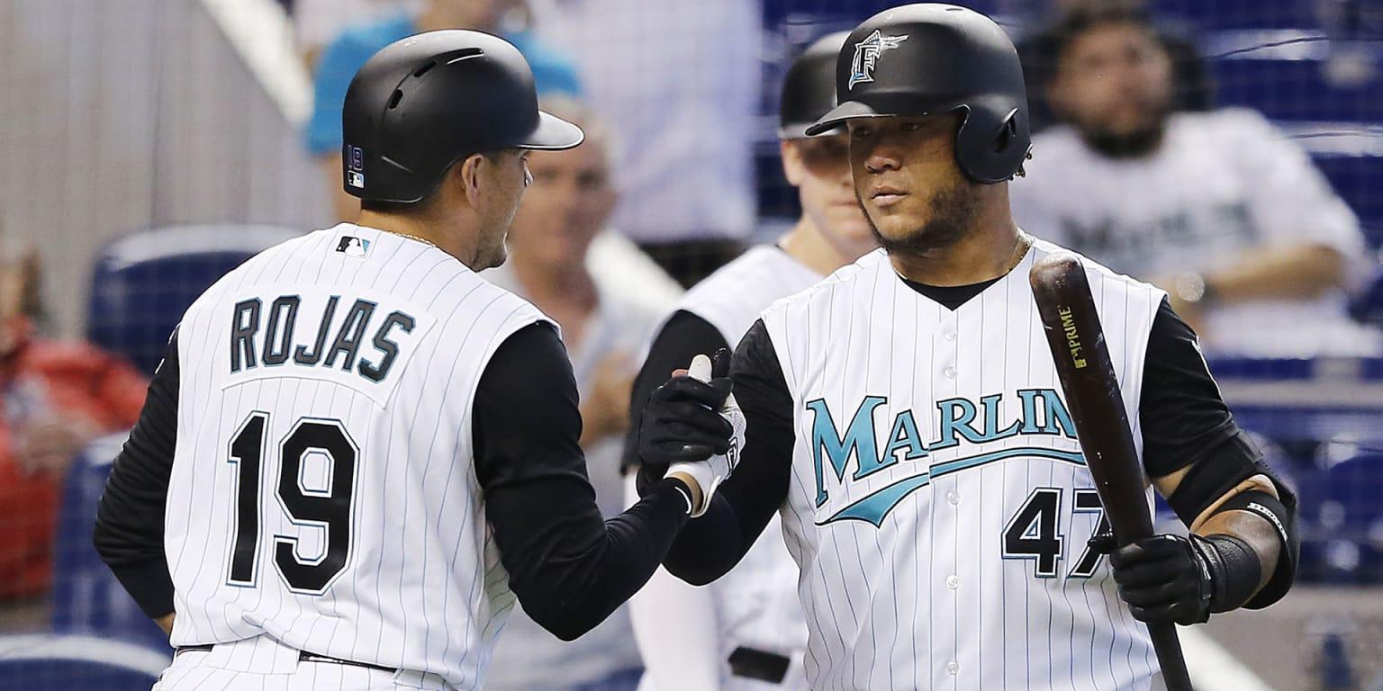 Marlins win Miguel Rojas home run   MLB com