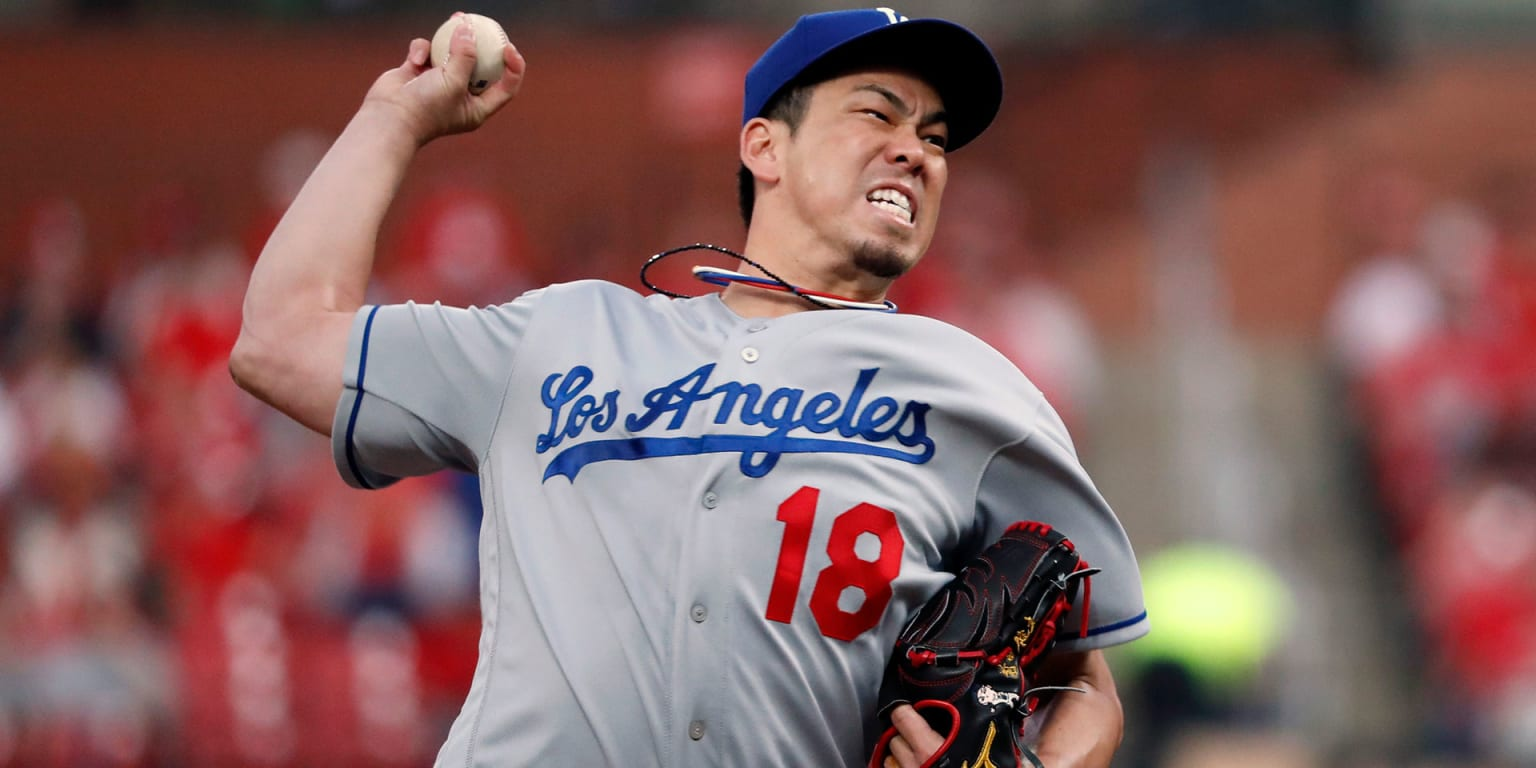 Kenta Maeda served as Dodgers backup closer