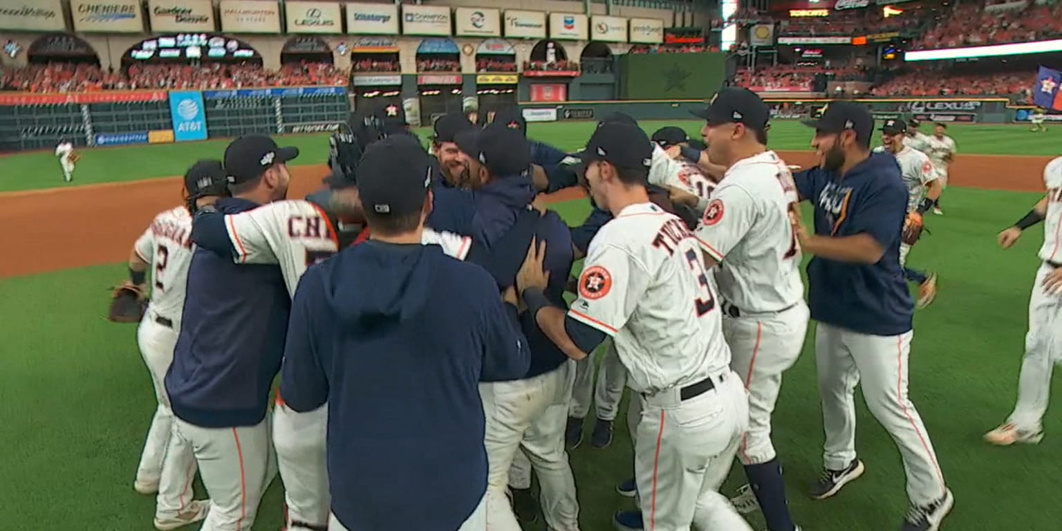 Astros ride dominant Cole to 3rd straight ALCS