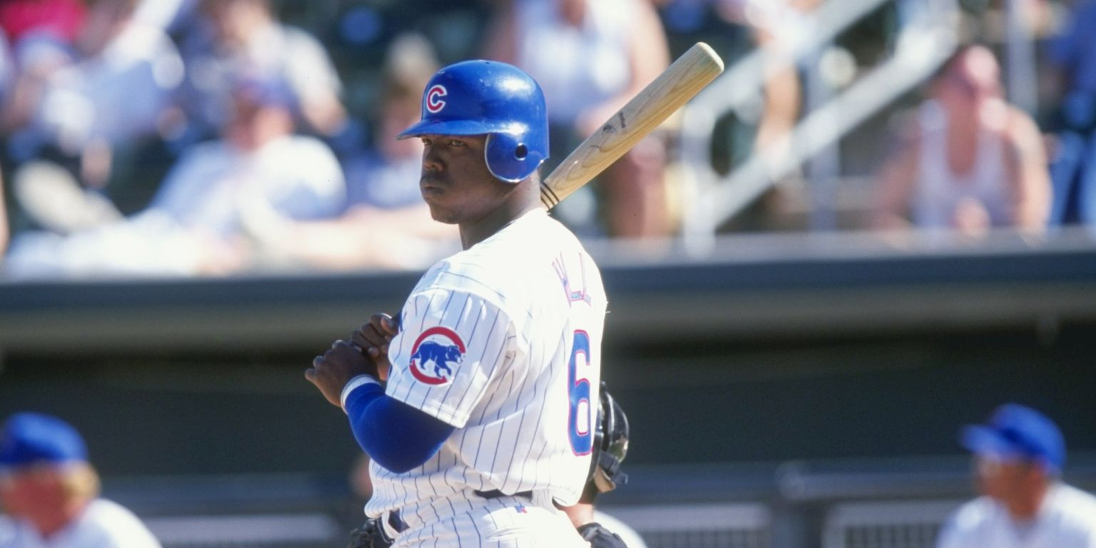 Happy Birthday To Glenallen Hill Who Once Hit A
