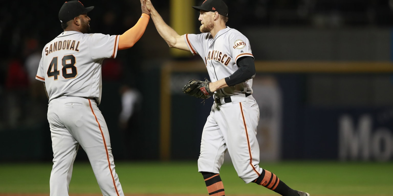 A wish come true: Sandoval, Pence reunited