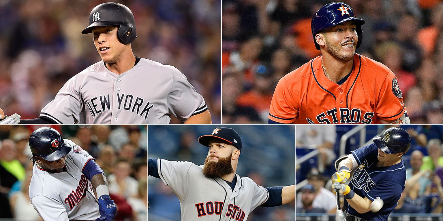 Top Early Candidates For 2017 Al Mvp Mlbcom