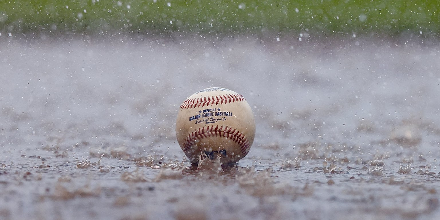 HOU-CWS postponed;  they will play on tuesday