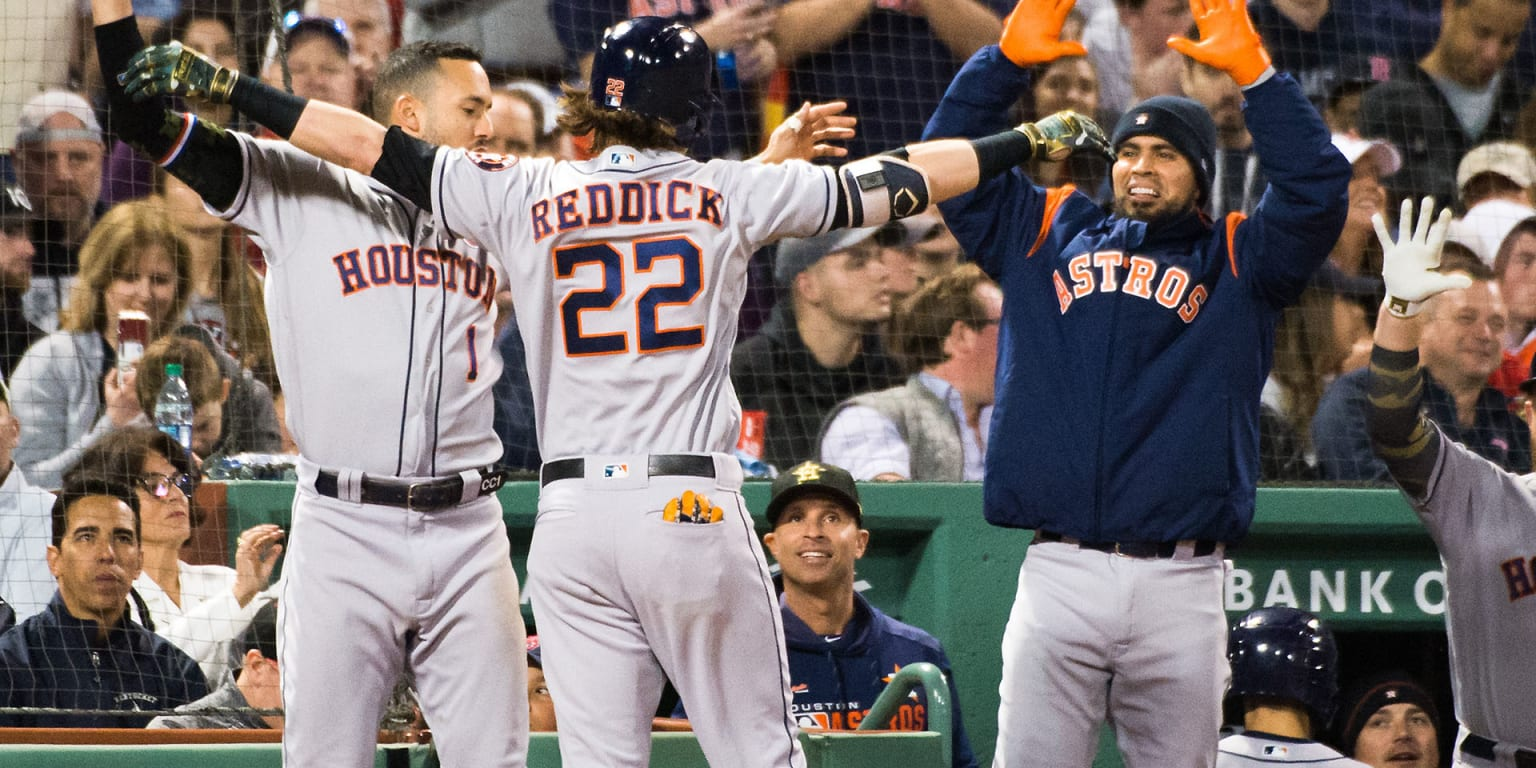 Astros ride big 1st to 2nd 10-game streak