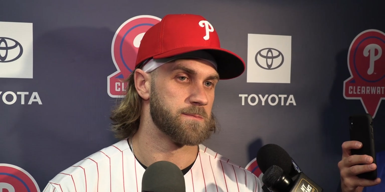Bryce 'pumped' for Phillies' 2020 potential