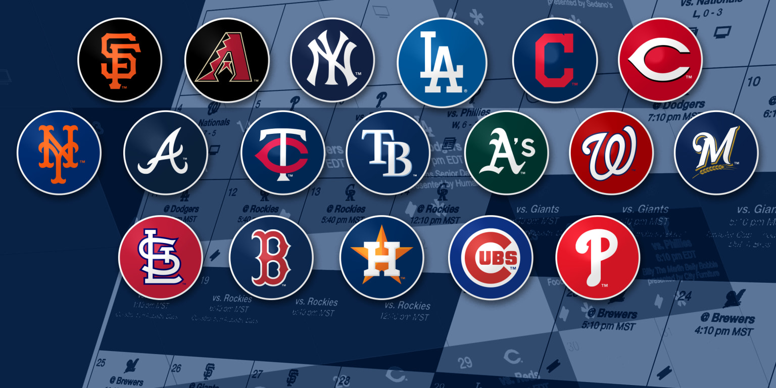 2019 Mlb Teams With Toughest Remaining Schedules Mlbcom