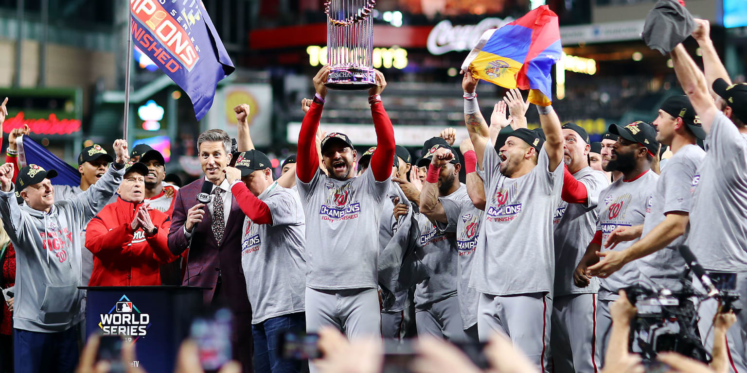 Nats make road-win history, capture 1st WS title