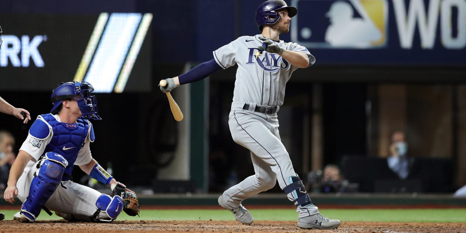 Rays survive LA rally to knot World Series