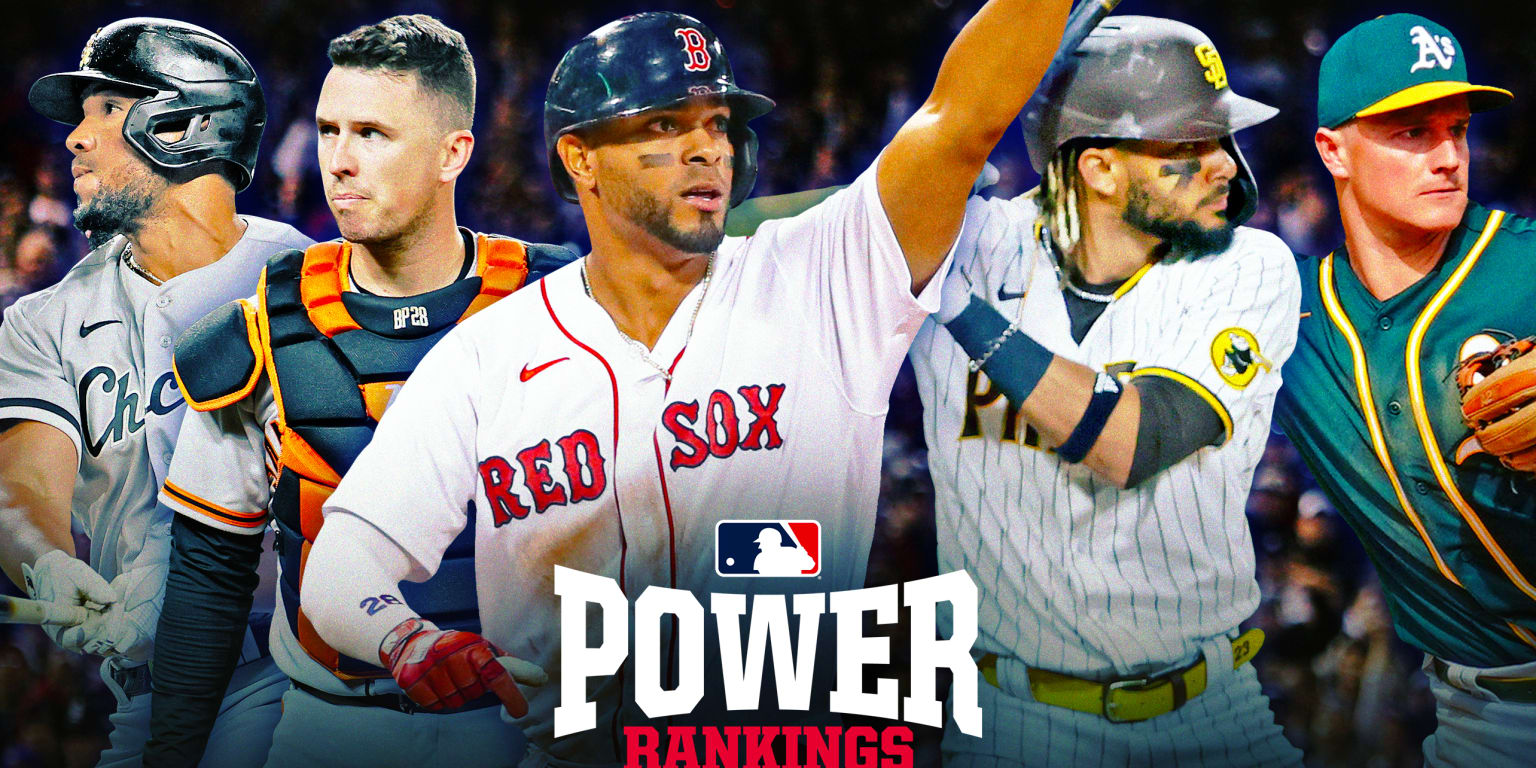 The new No. 1 atop the Power Rankings is …