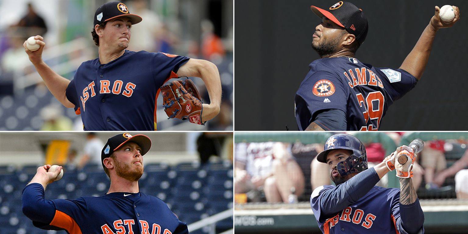 Astros prospects at Spring Training