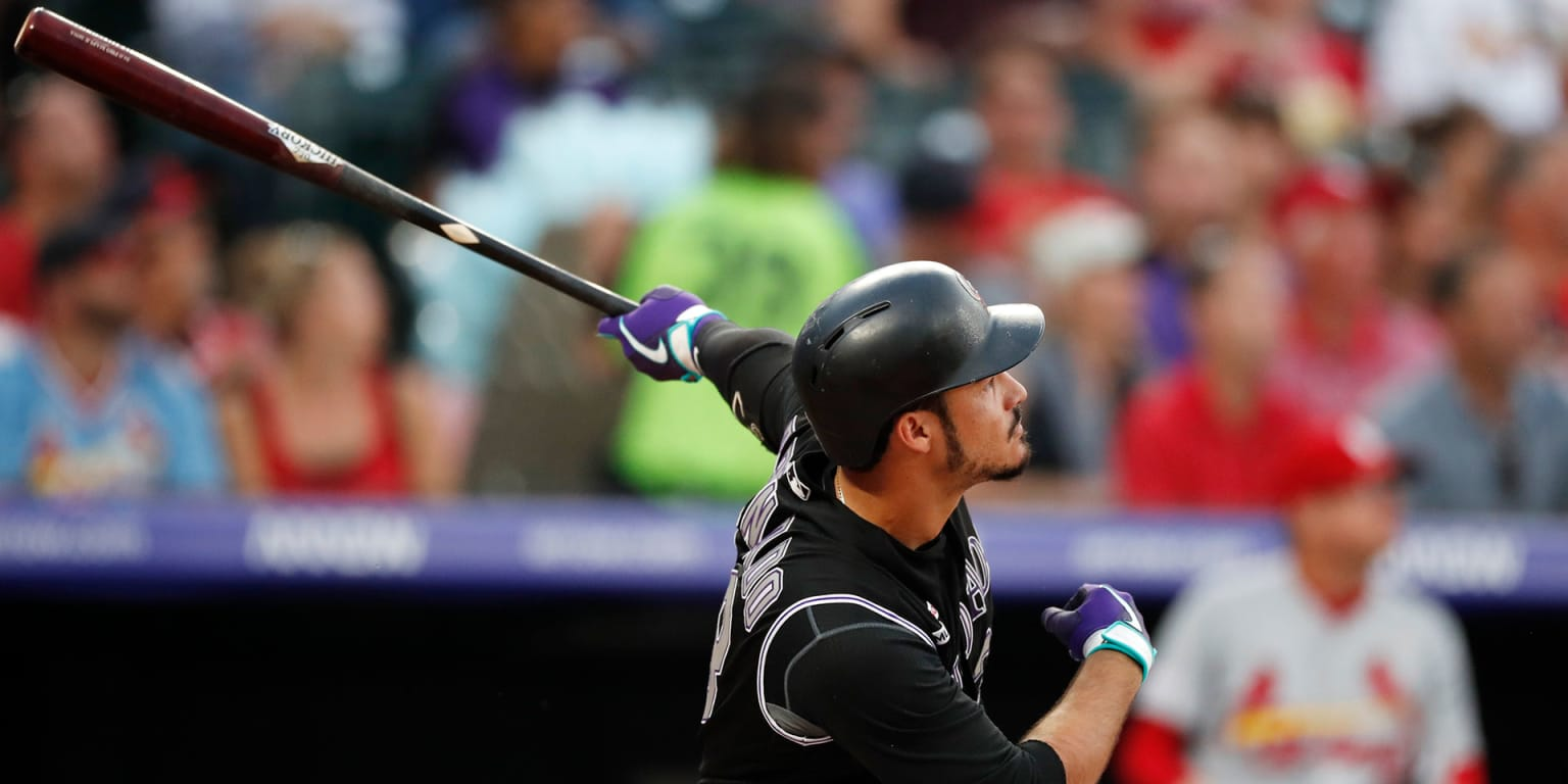 Arenado's 482-ft homer leaves Coors on a hop