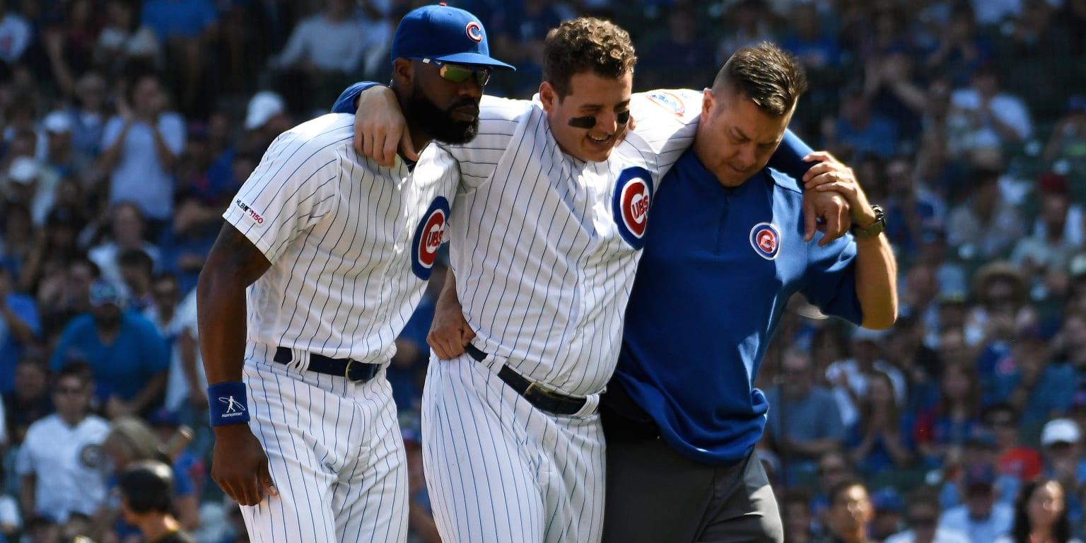 Ankle sprain may end Rizzo's regular season