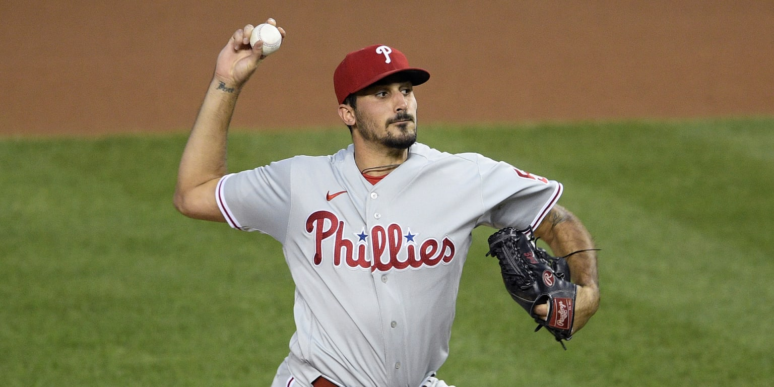 Phillies snap skid behind Eflin, 5 homers