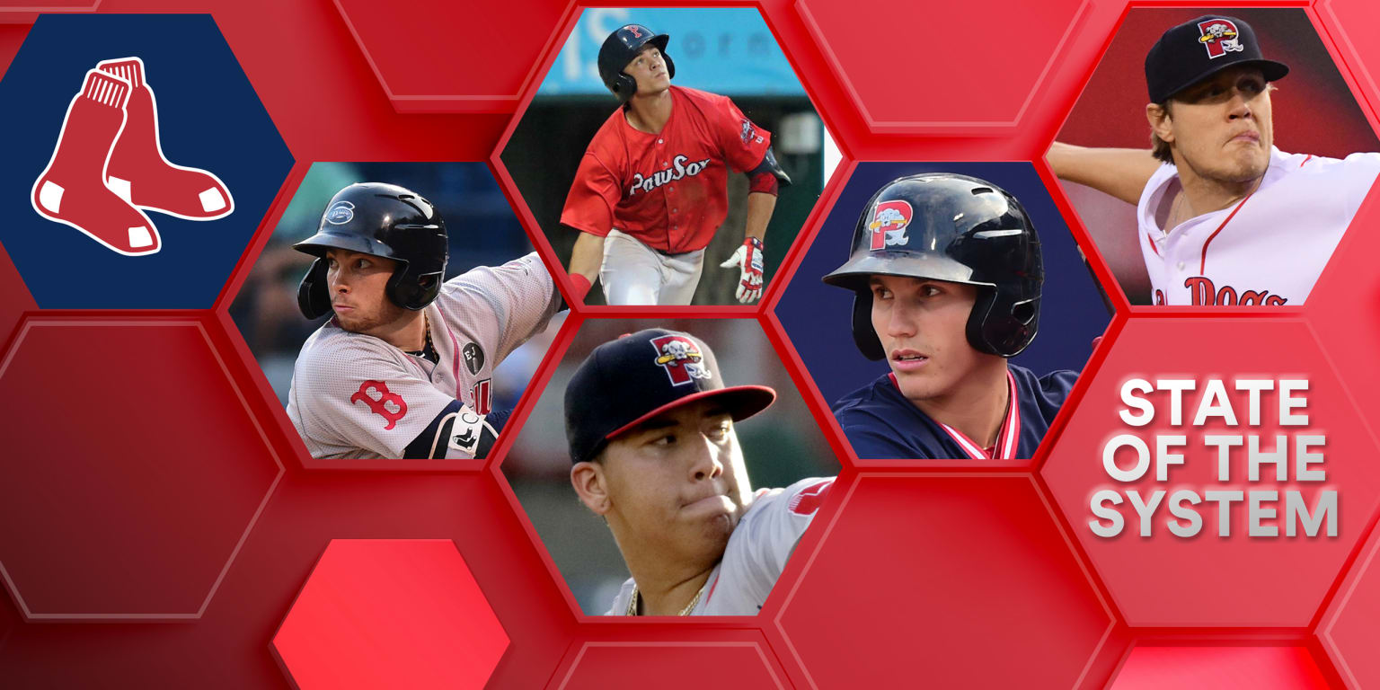 This is the state of the Red Sox farm system