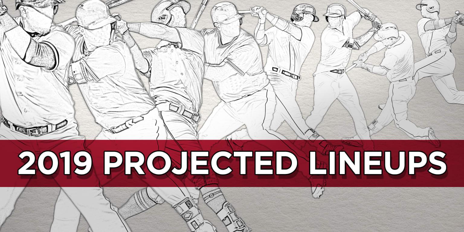 Projected 2019 lineups rotations all 30 teams | MLB com