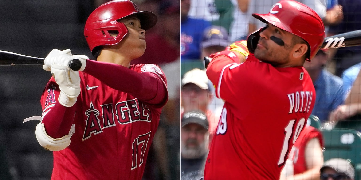 Ohtani repeats; Votto gets 1st monthly award