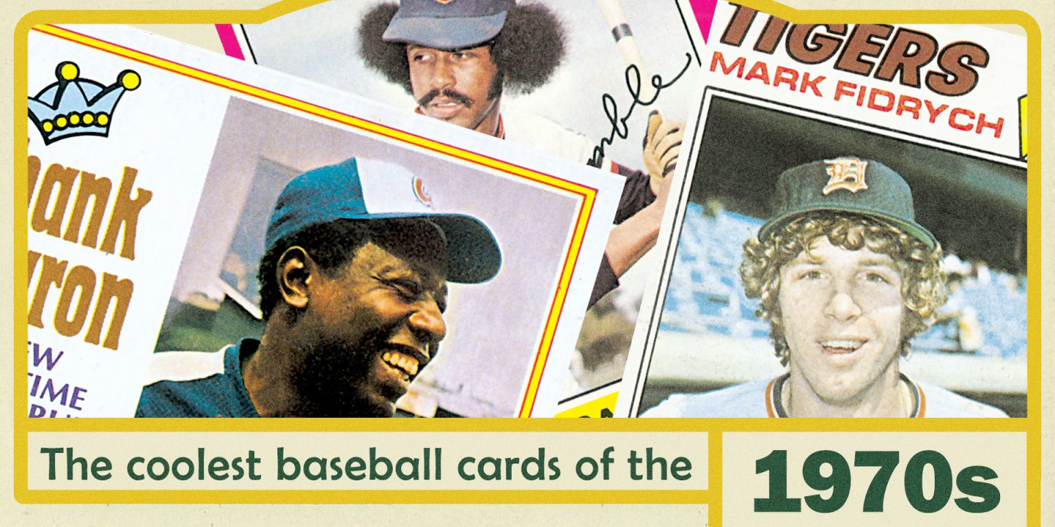 The single best Topps baseball card from each year: the 1970s