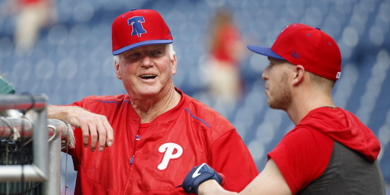 Charlie Manuel Starts As Phillies Hitting Coach Mlbcom