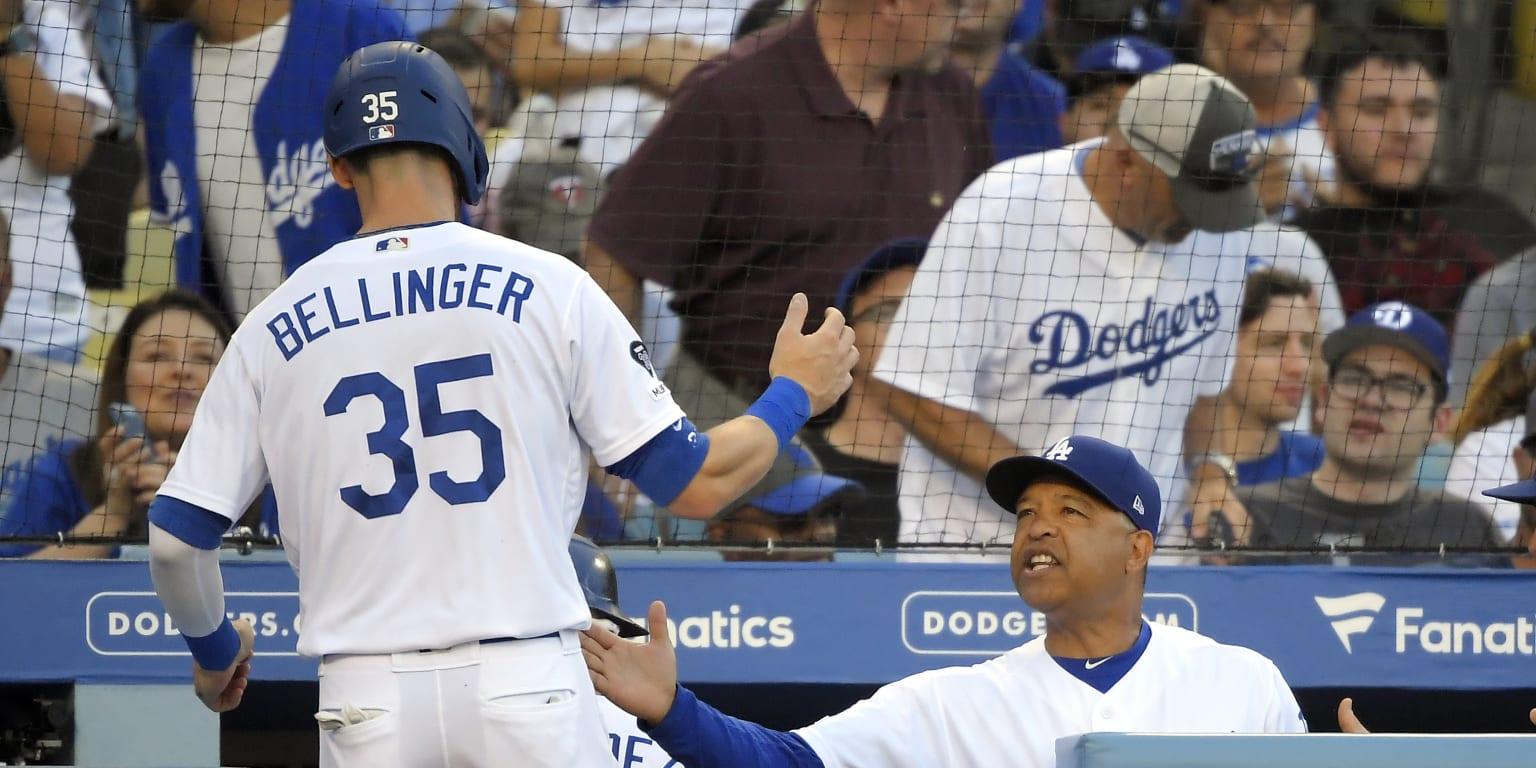 Bellinger ends HR drought as LA works out kinks