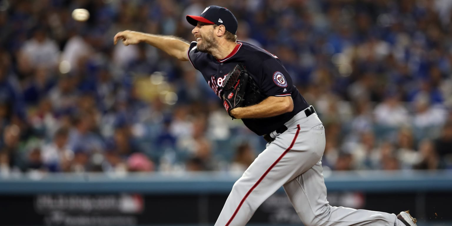 Max Scherzer pitches in relief in Game 2 win - MLB.com