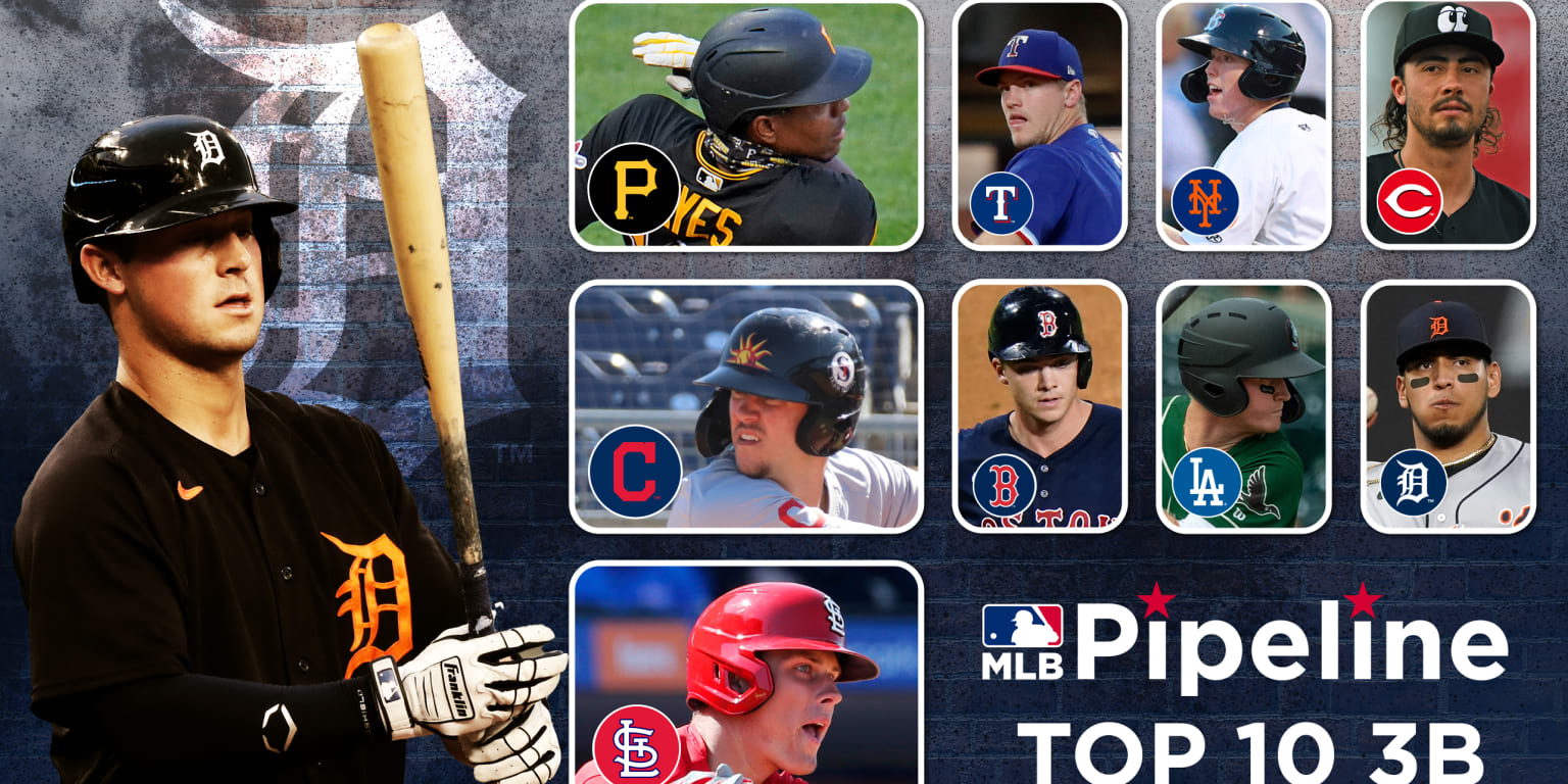 These are the Top 10 3B prospects in MLB
