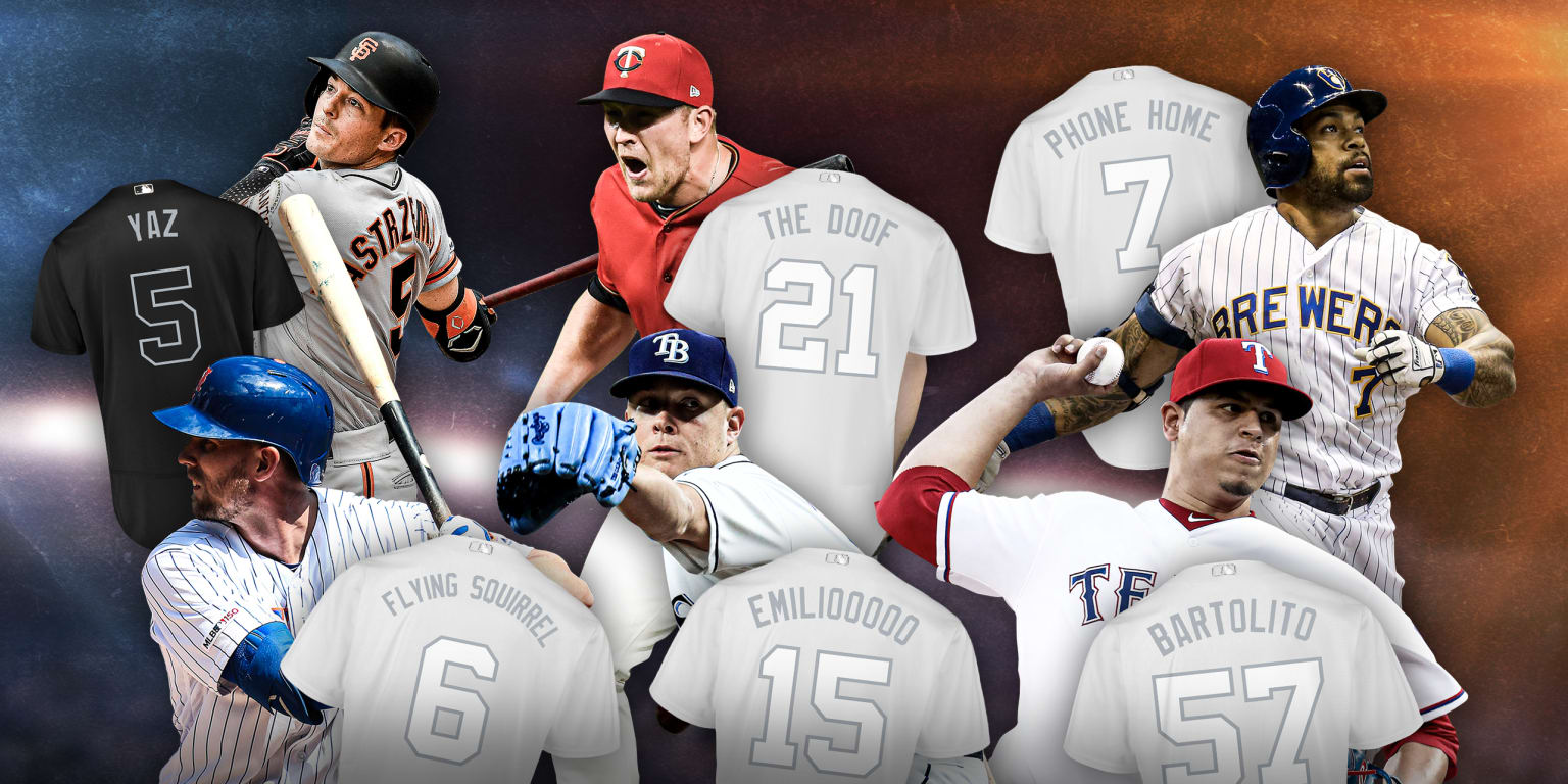 outlet store 87c3f d9eee Best Players' Weekend nicknames | MLB.com