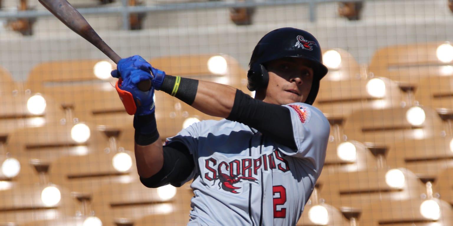 Mets' Gimenez claims Fall League batting crown