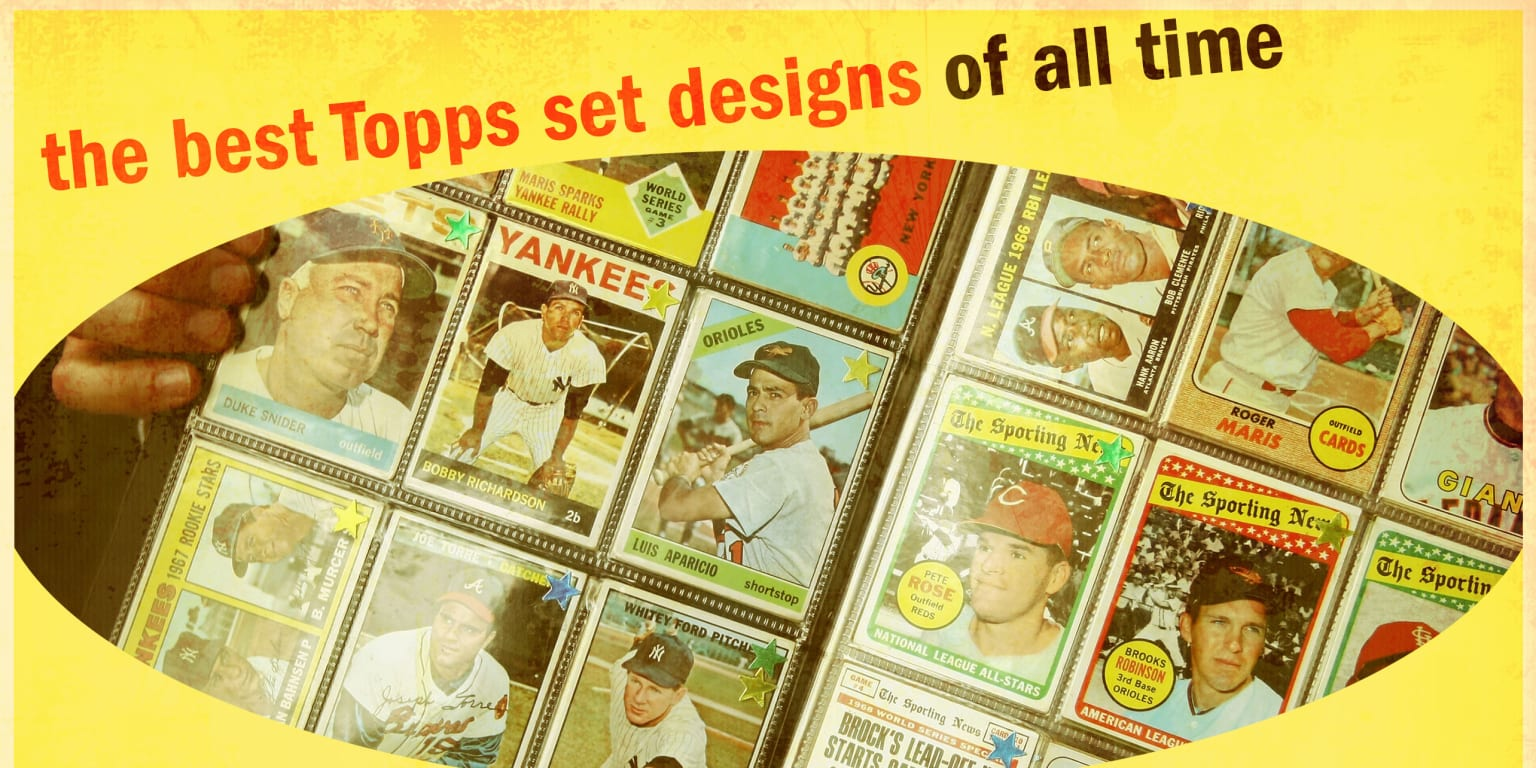 The best Topps card designs of all time