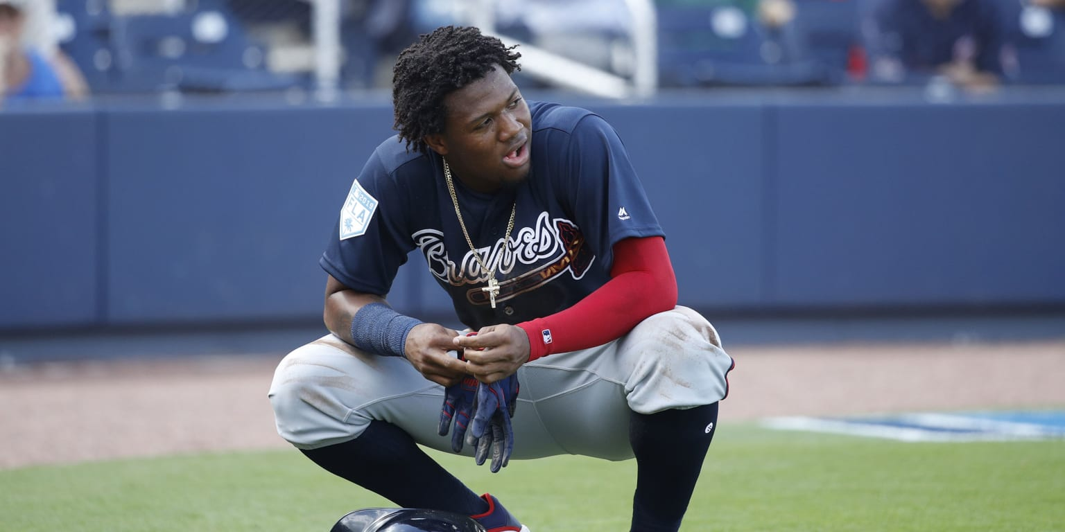 Acuña's goal? Be first member of 50-50 club