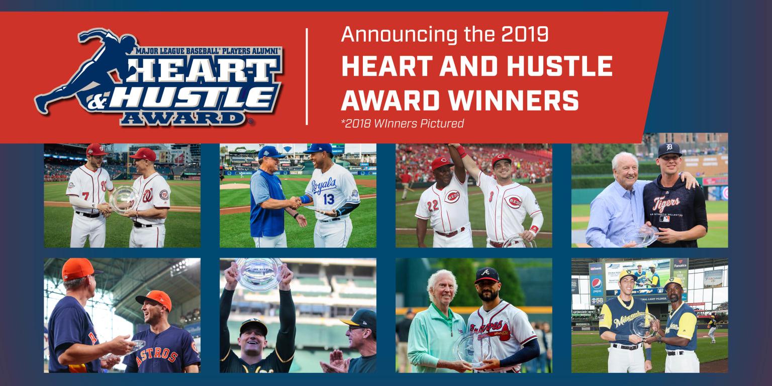 MLBPAA announces team winners of 15th annual Heart and Hustle Award