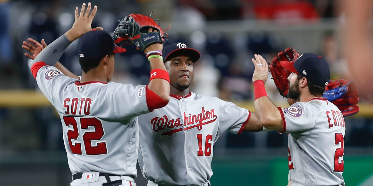 How Nats flipped the script on outfield defense
