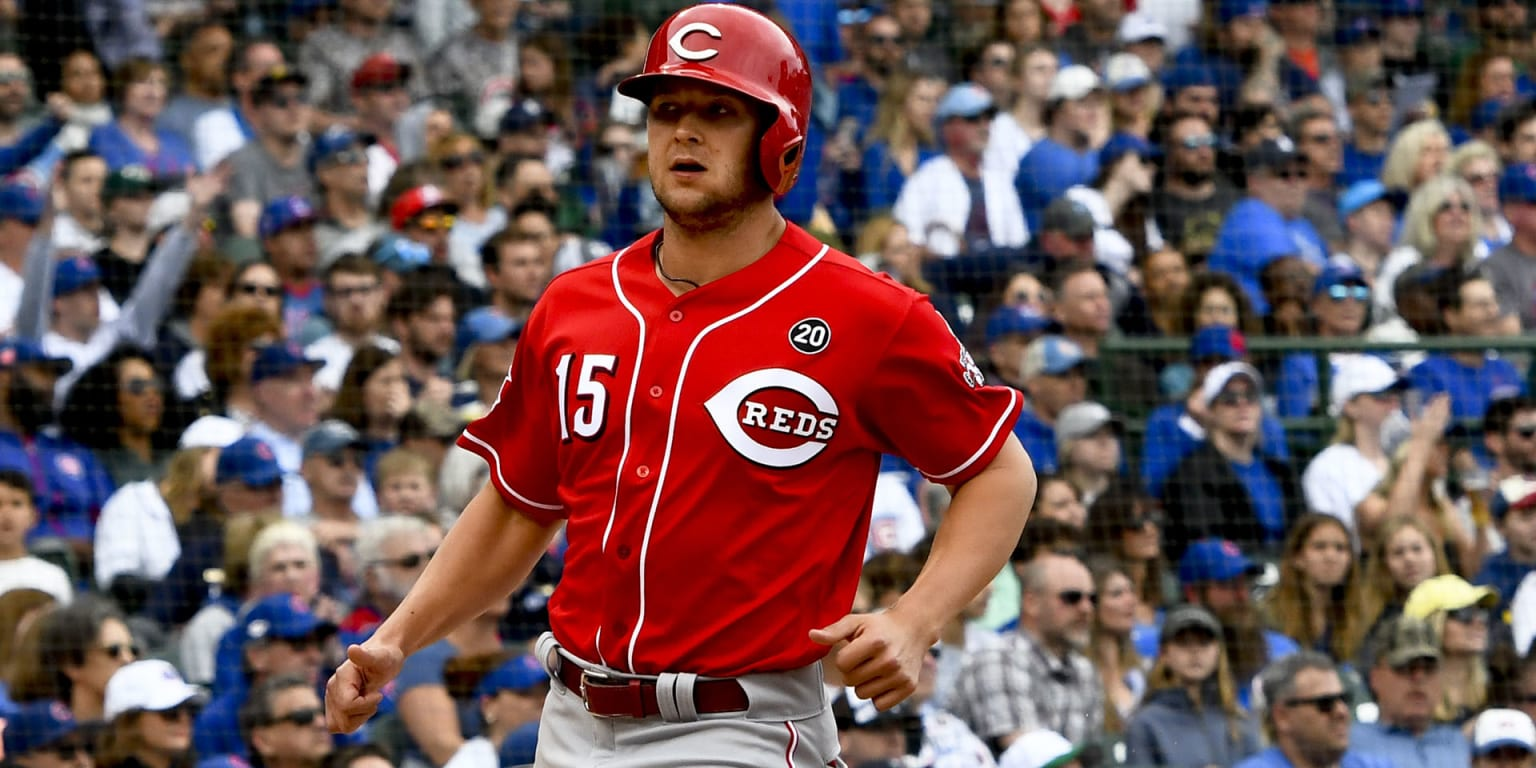 Reds No. 1 prospect Senzel the standout in win