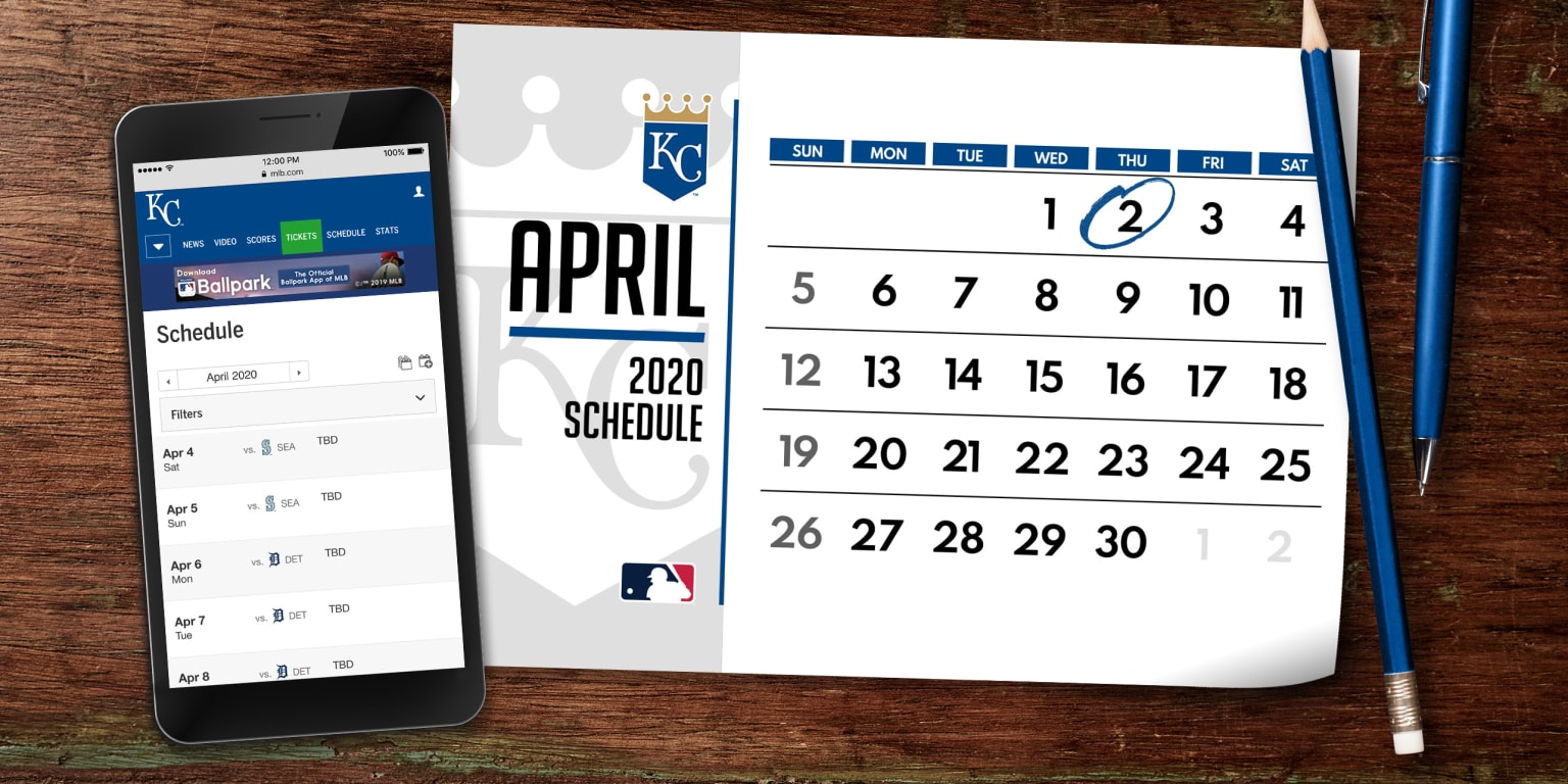 Padres Home Schedule 2020.Kansas City Royals 2020 Schedule Preview Mlb Com