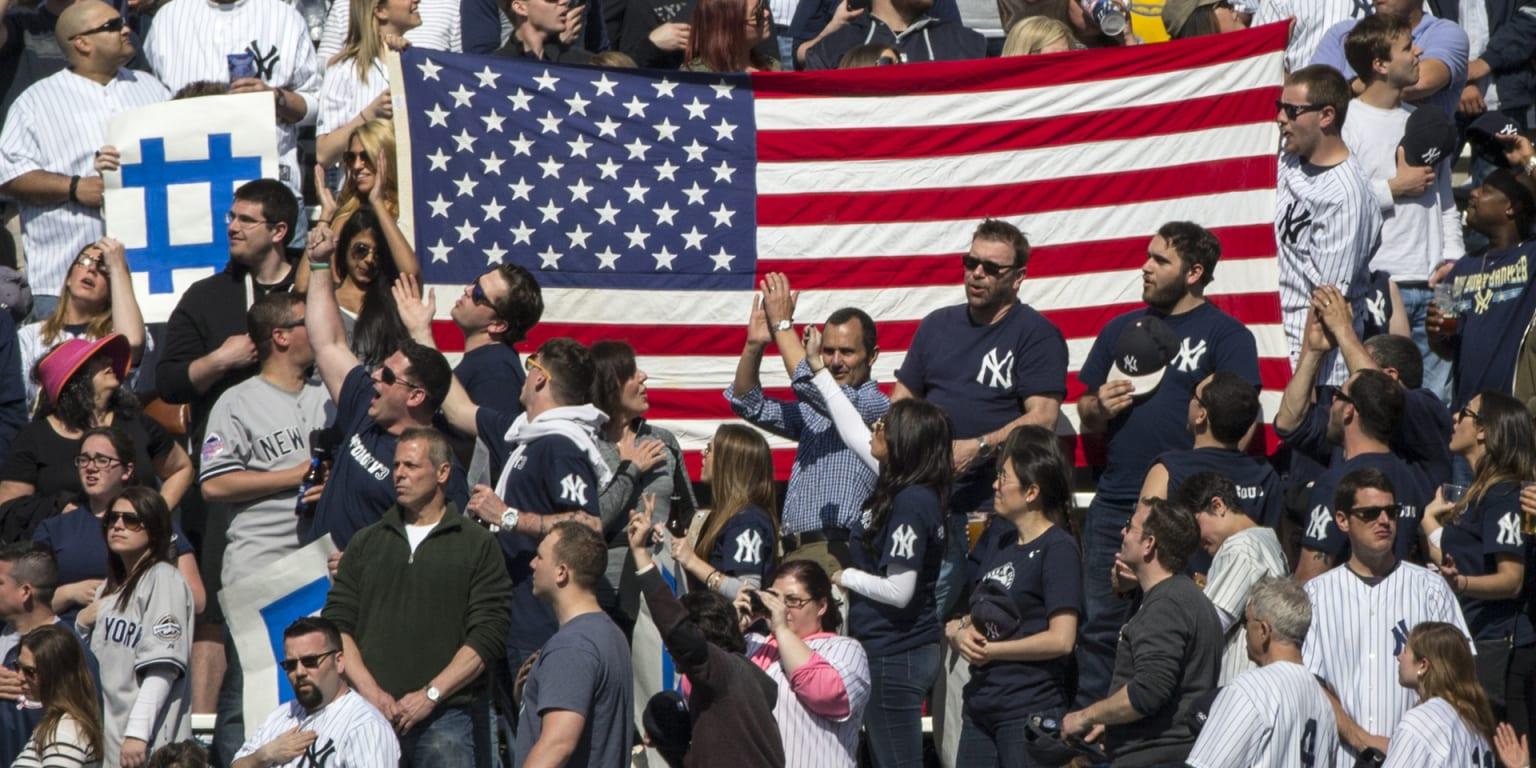 Bleacher Creatures' roll call a Yankee Stadium tradition