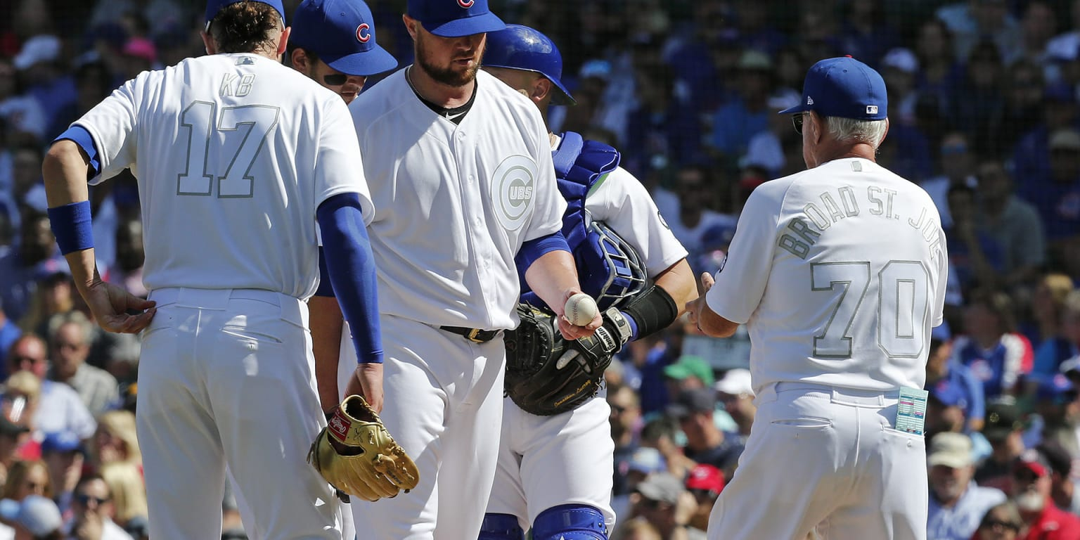 Cubs struggle to keep up with red-hot Nats